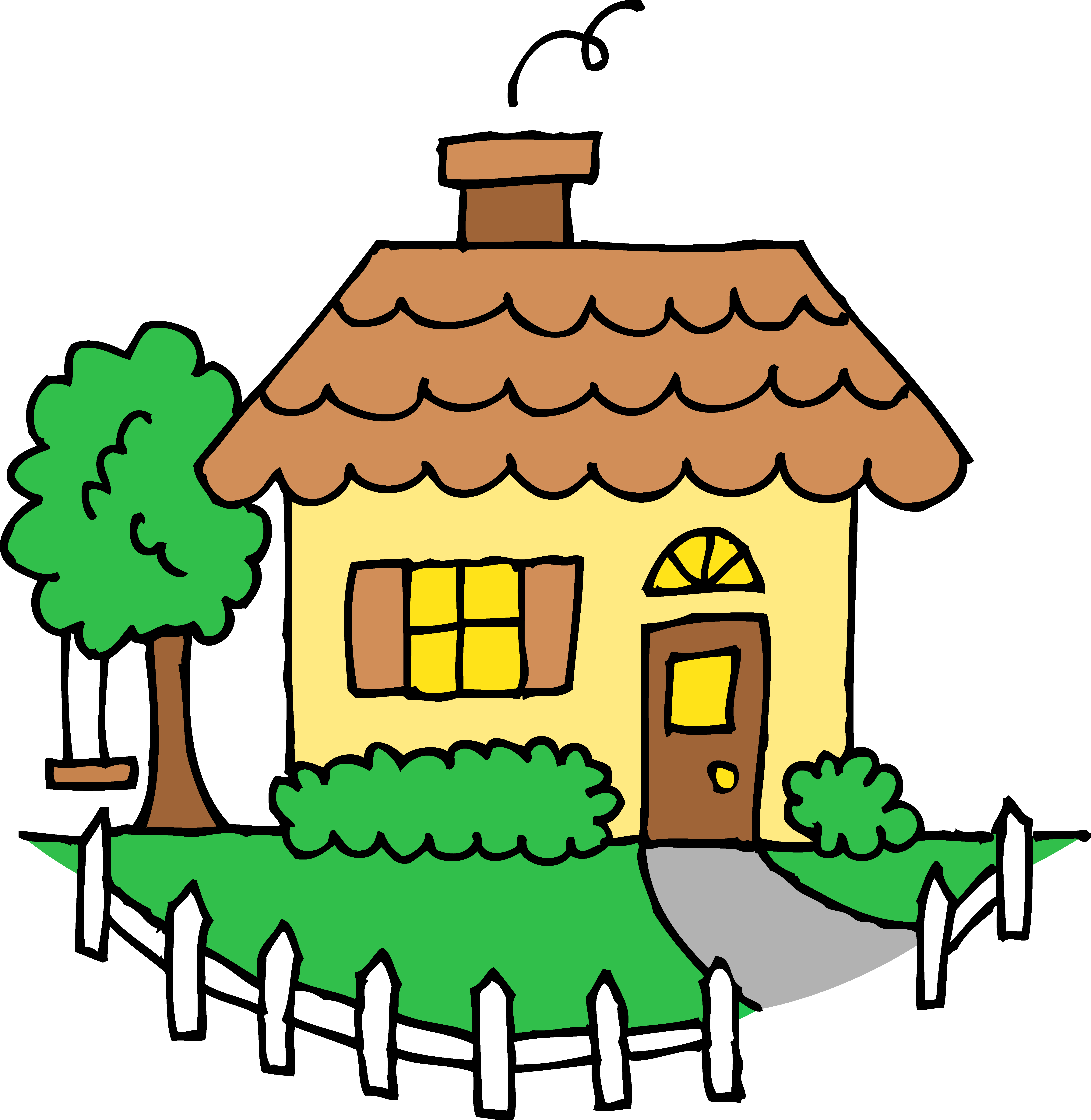 Cottage clipart. Free cute cliparts download