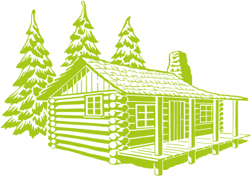 Cottage clipart campground. Lodging there are also