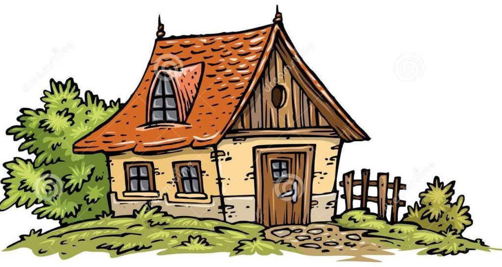E typegoodies me. Cottage clipart cottage house picture black and white library