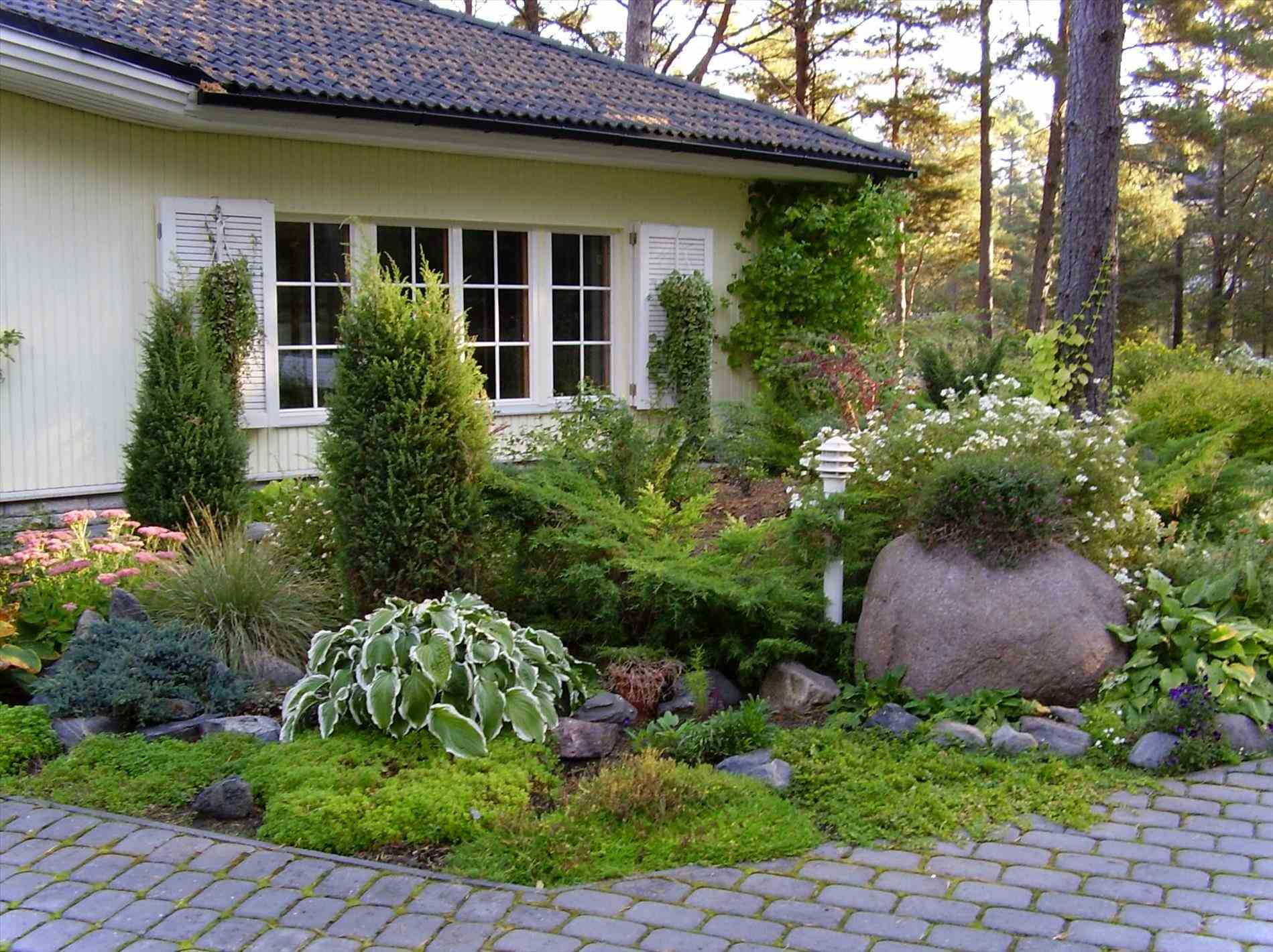 Cottage clipart front garden. Marvelous ideas landscape for