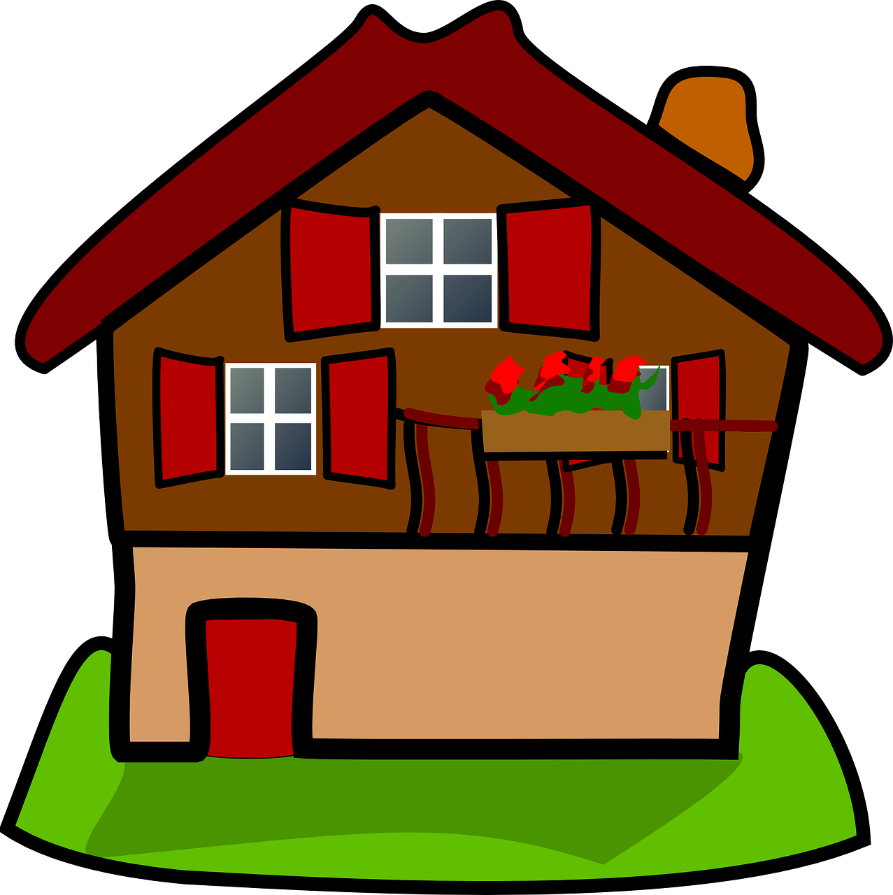 Cottage clipart frontyard. Prepare before you browse