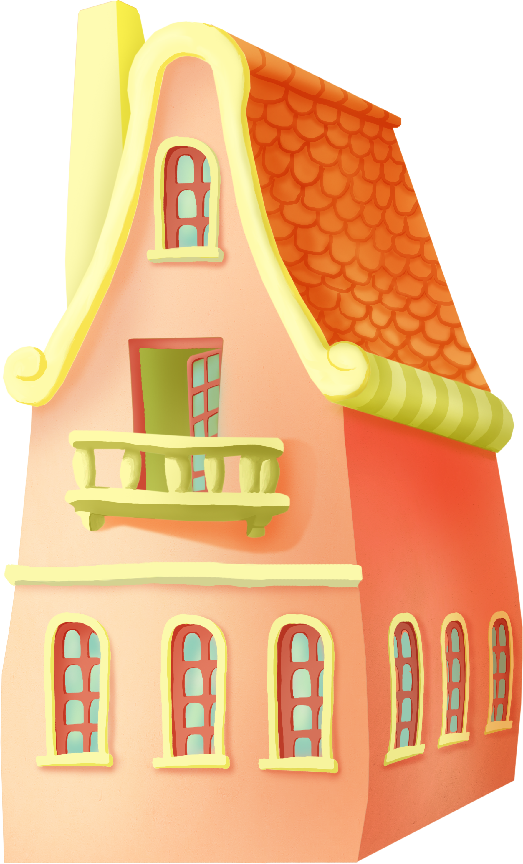 Cottage clipart kid. For the kids
