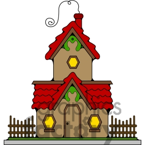 Clip art christmas . Cottage clipart kid png black and white