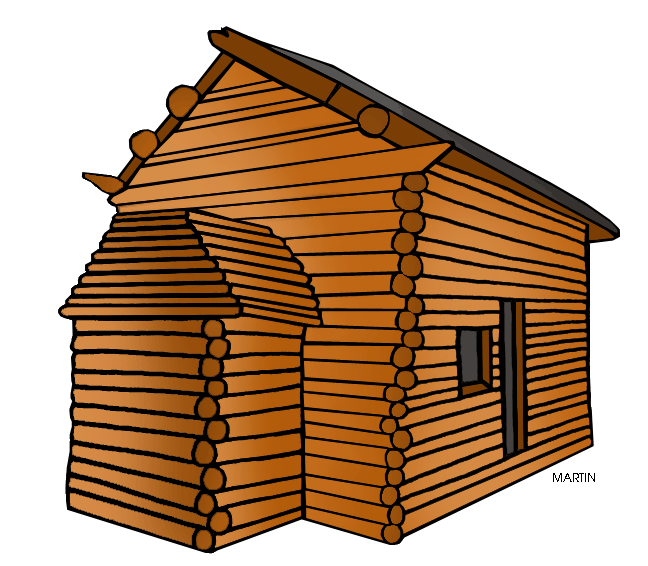 Cottage clipart rustic cabin. Log at getdrawings com