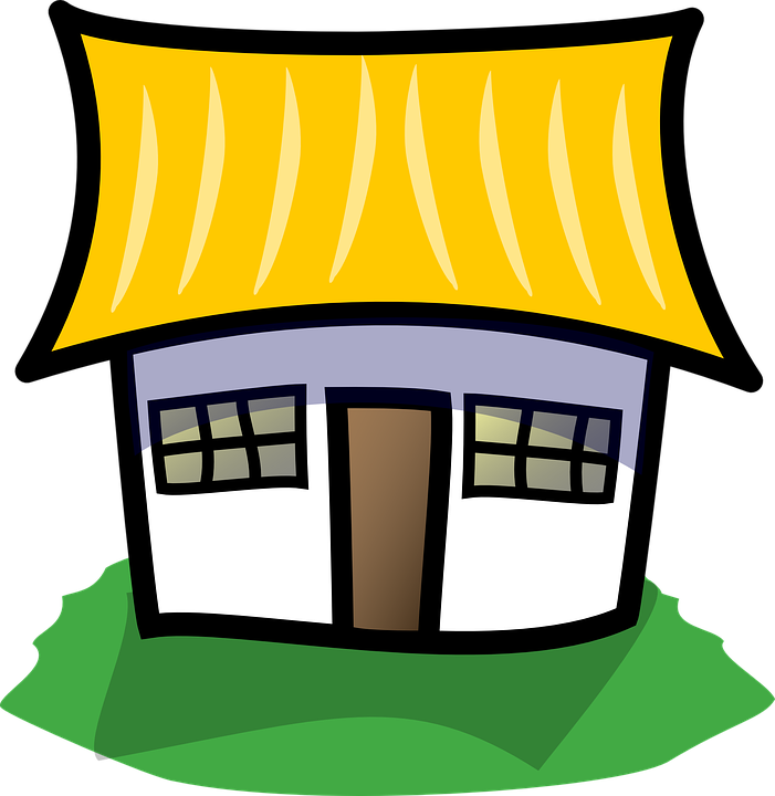 Cottage clipart straw roof. Cliparts for free