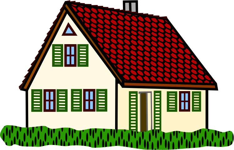 Free homes cliparts download. Cottage clipart townhouse graphic free stock