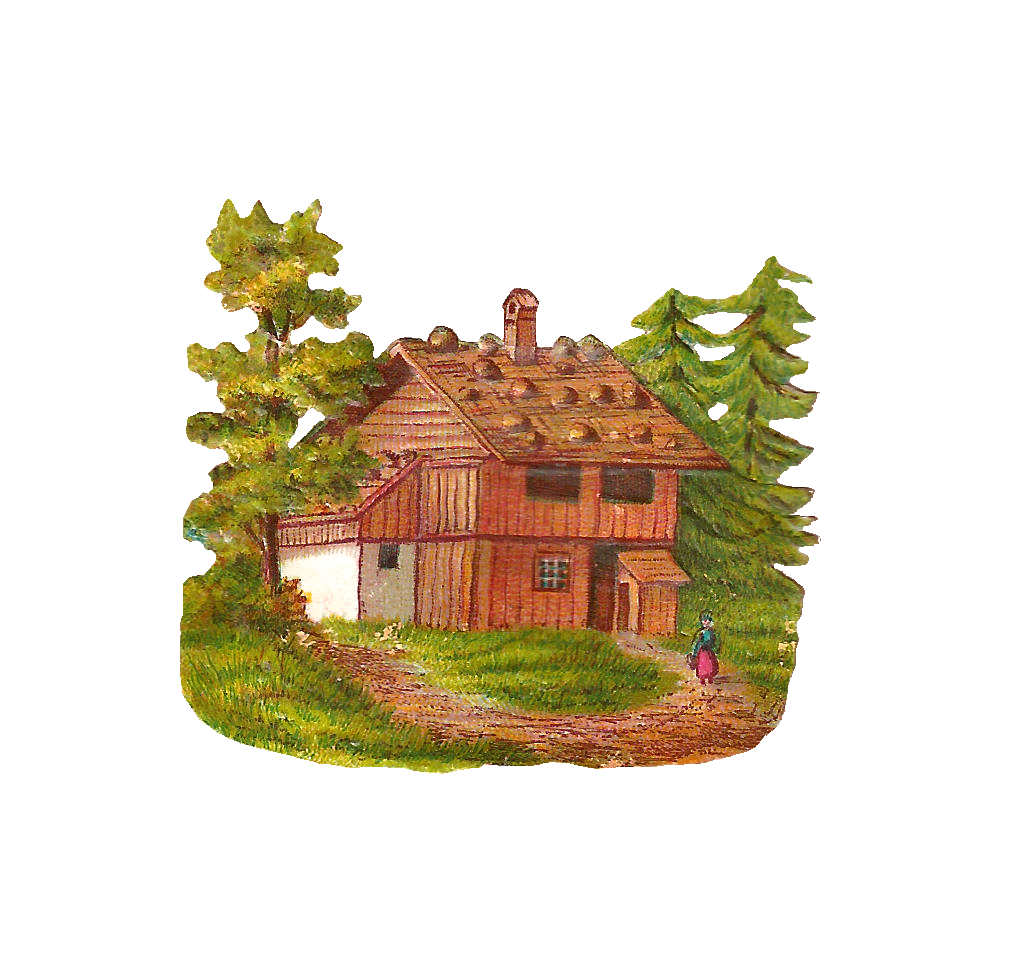 Cottage vector. Collection of free cottaged