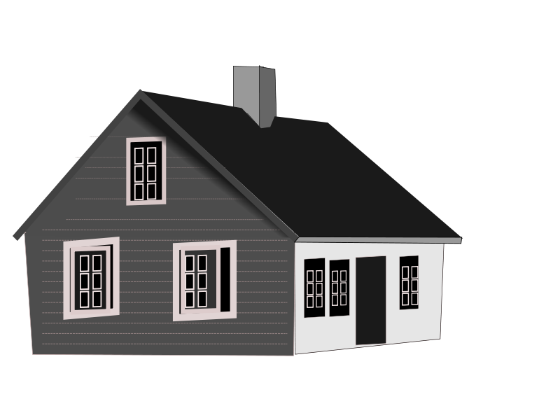 Cottage vector chalet. House free stock photo