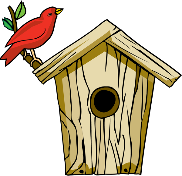 Cottage vector english. Tree house clipart clipartsco