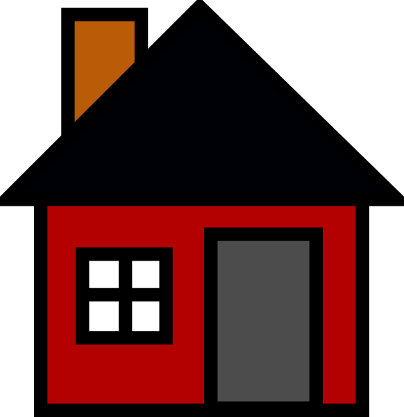 Cottage vector house simple. Clip art at clker