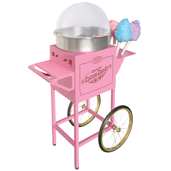 Cotton candy machine png