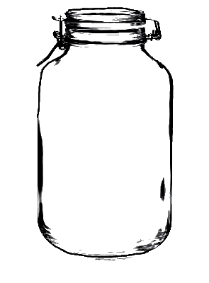 Large clamp mason click. Jar transparent clip art clip art library library