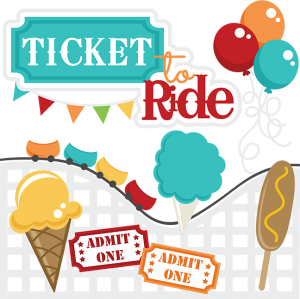 Ticket to ride files. Cotton svg clipart royalty free stock