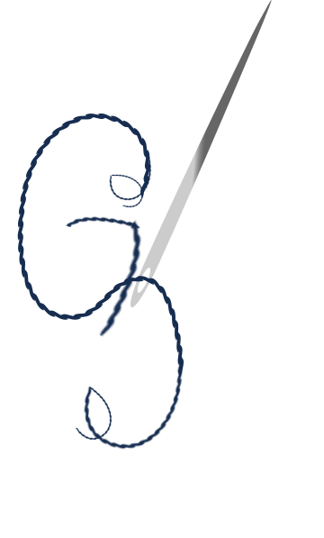 Cotton svg. Needle and clip art