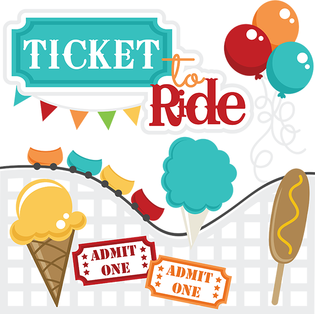 Ticket to ride files. Cotton svg file svg freeuse stock