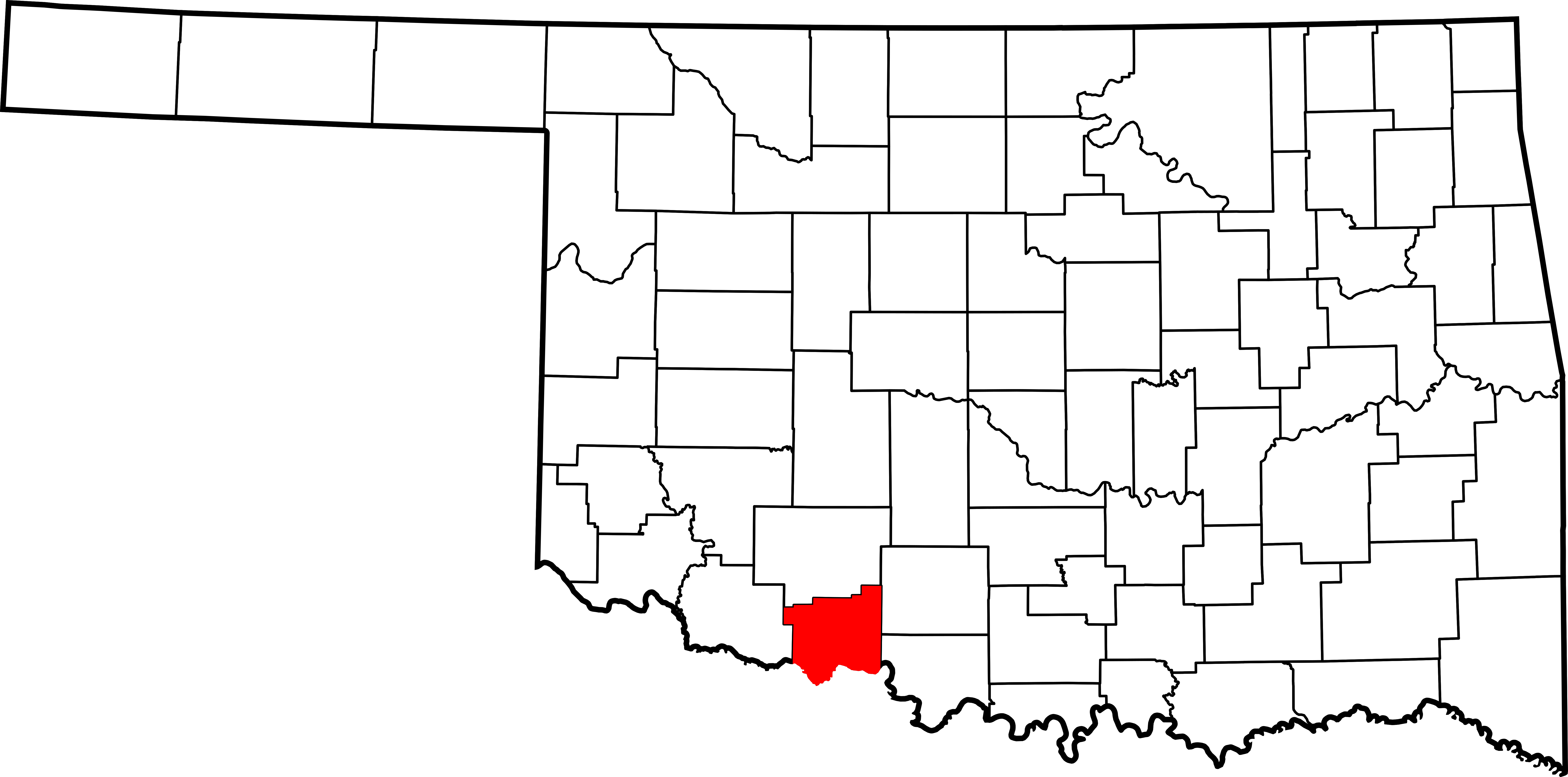 Cotton svg outline. File map of oklahoma