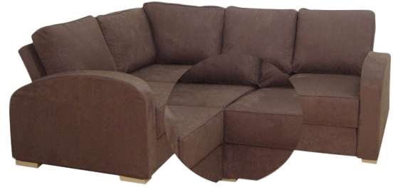 Couch back view png. Sofa options and information