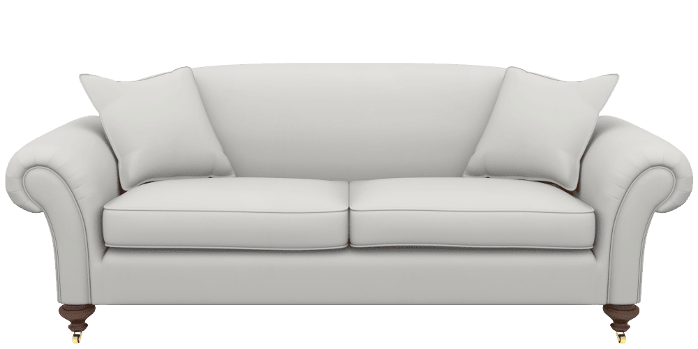 Couch back view png. Seater sofas handmade