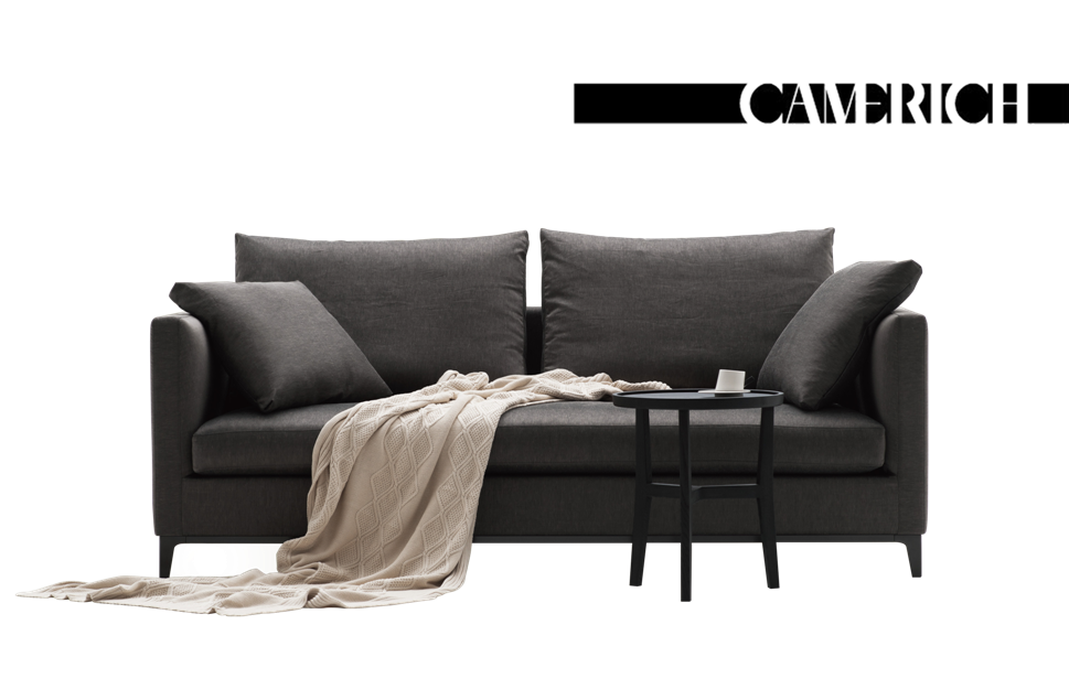 Couch back view png. Crescent sofa camerich au