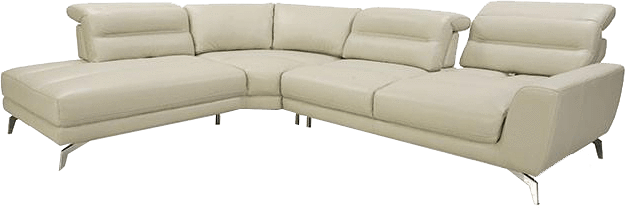 Couch back view png. Moroni full leather sectional
