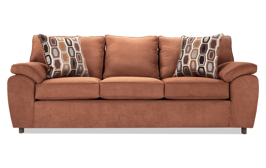 Couch back view png. Tristan saddle sofa outlet