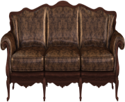 Couch back view png. Furniture clipart free images