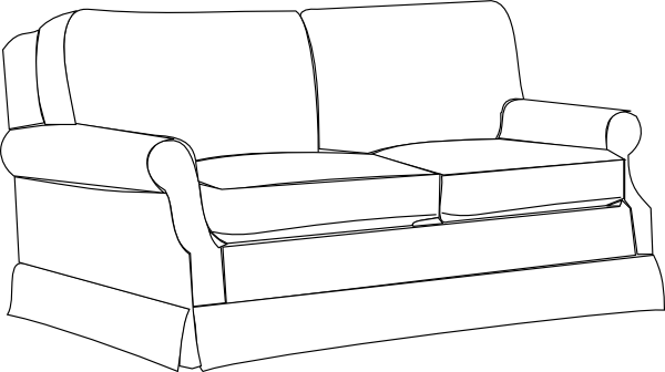 Couch vector png. Free sofa cliparts download