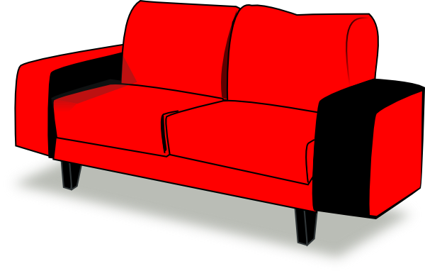 red couch png