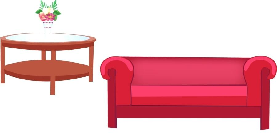 Couch clipart sofa. Clip art living room
