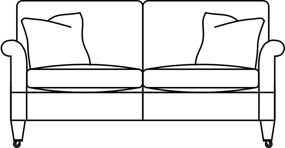 Couch drawing png. Sasha duresta small sofa