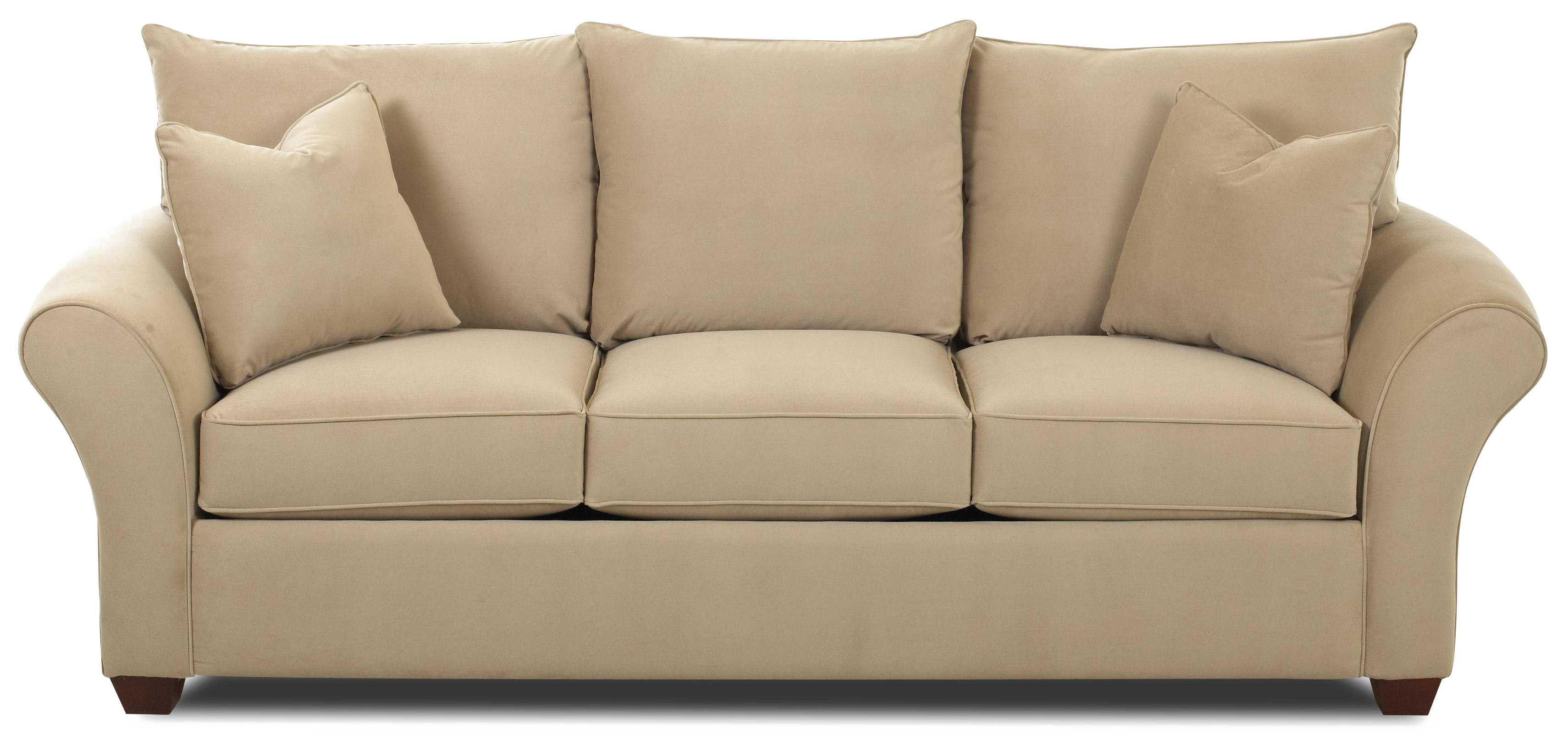 Transparent couch beige. Sofa png images free
