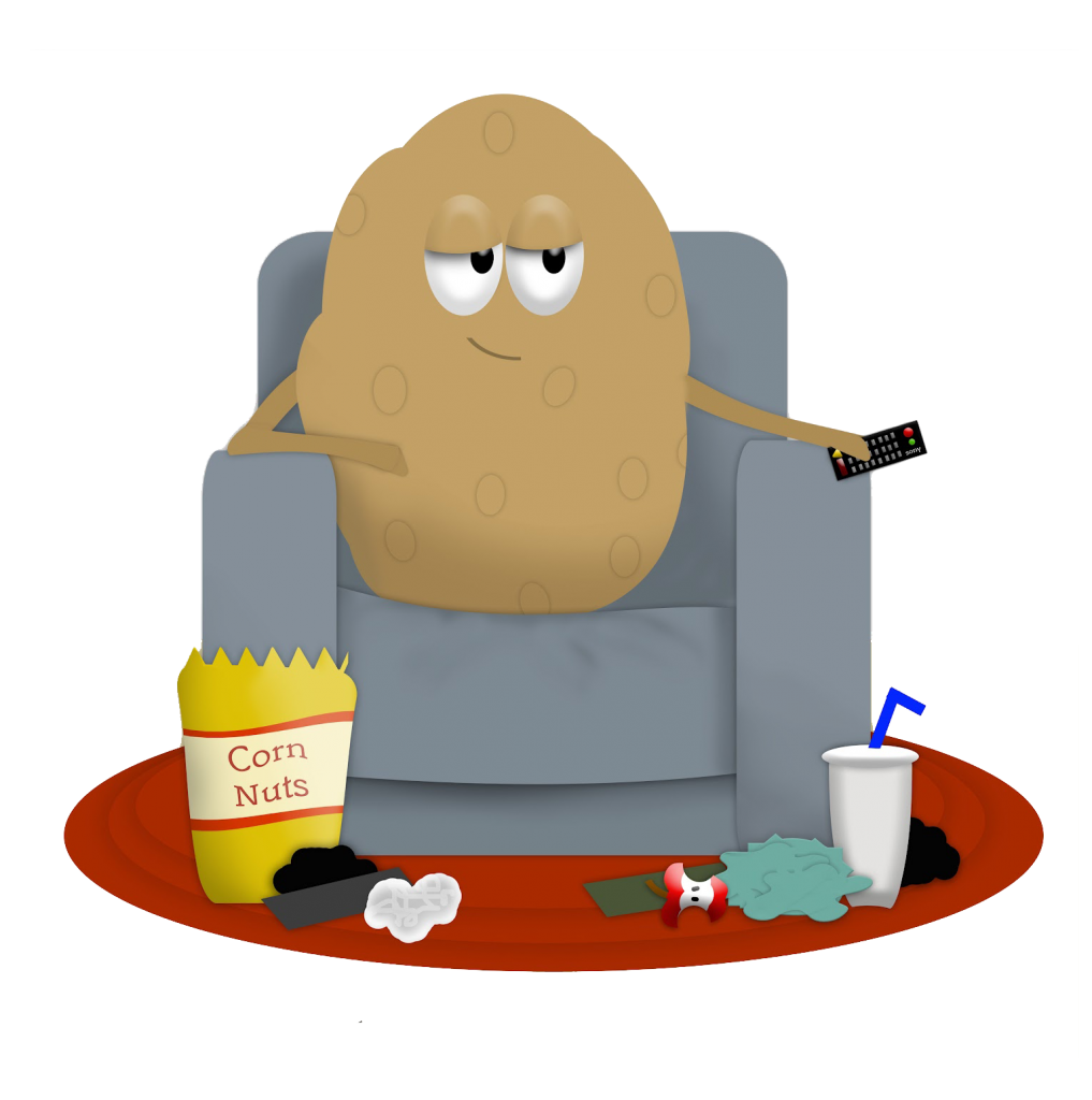 Couch potato png. Index of wp content