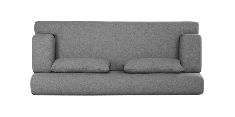 Couch top view png. Liberty three seater sofa