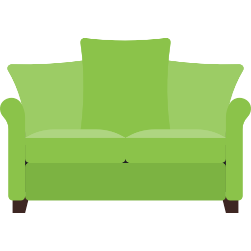 Couch vector png. Sofa flat icon svg