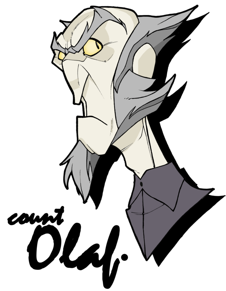 Count olaf png. By mrgreenlight on deviantart