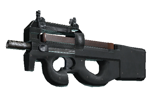 P90 clip real. P counter strike wiki