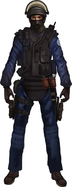 Counter terrorist png. Gign one of the