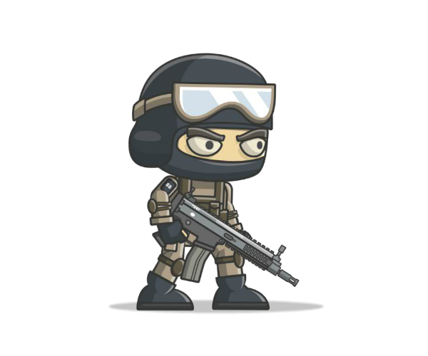 Mike the royalty free. Counter terrorist png clipart library library