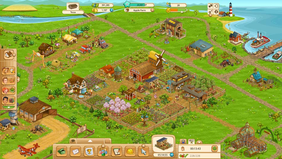 Country clipart big farm. Goodgame studios overview