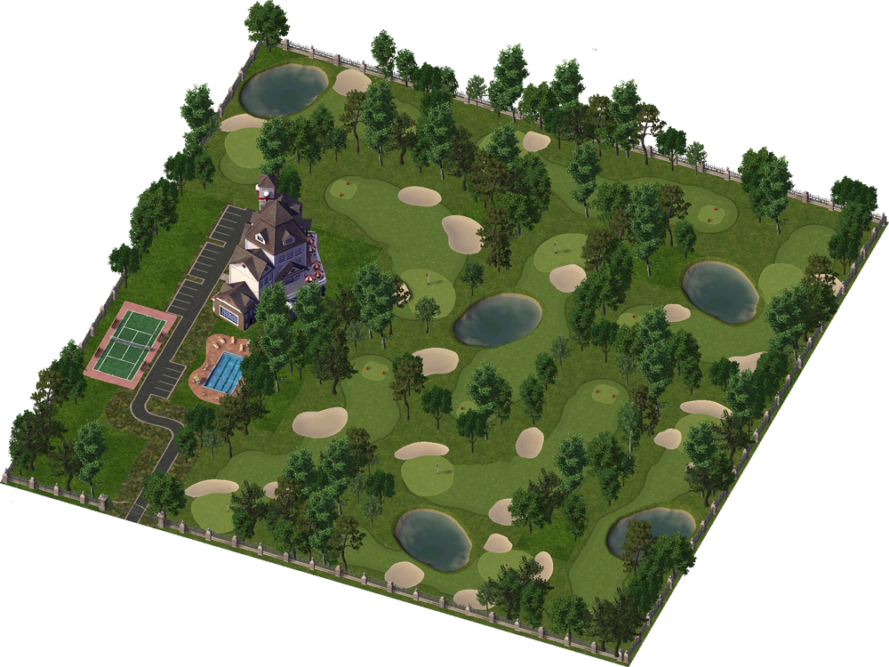 Country club png. Image simcity encyclopaedia imagecountry