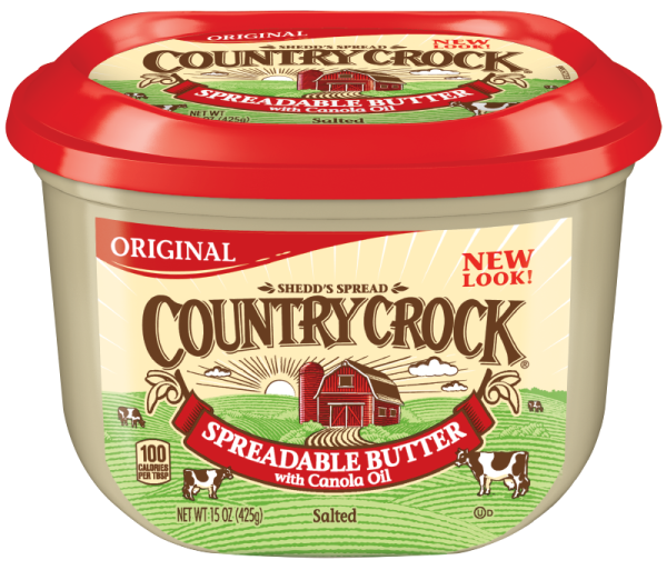 Country crock png. Spread only at kroger