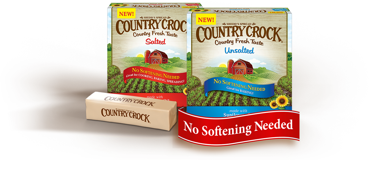 Country crock png. Easy baking butter
