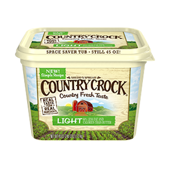 Country crock png. Off spread with