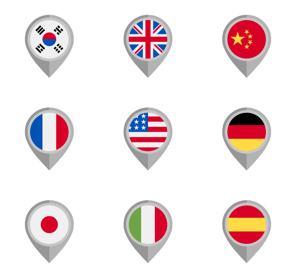 Country flag png. Countrys flags free icons