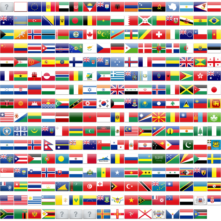 Country flags png. Feature high resolution et