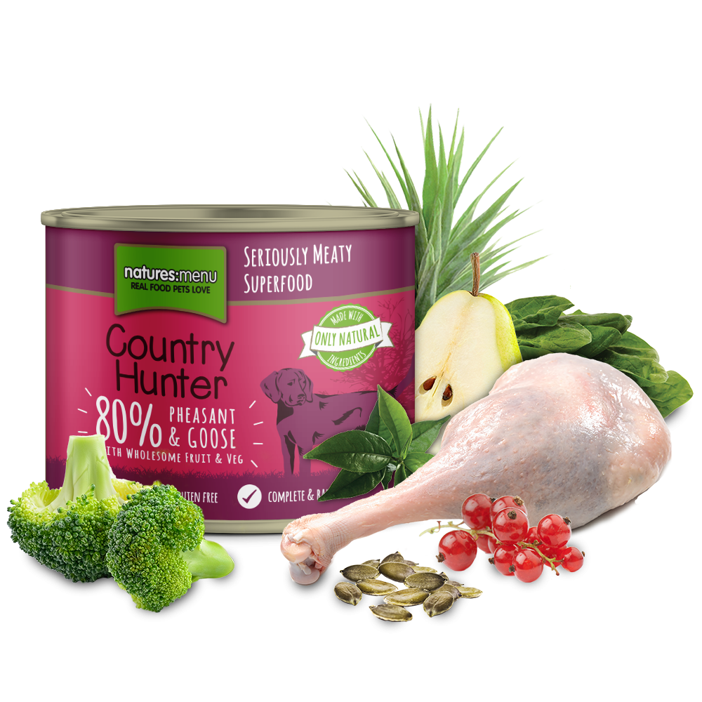 Country food png. Hunter dog can pheasant