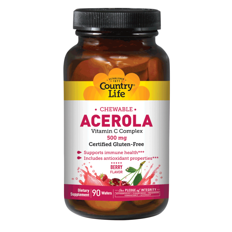 Country life png. Chewable acerola mg vitamins