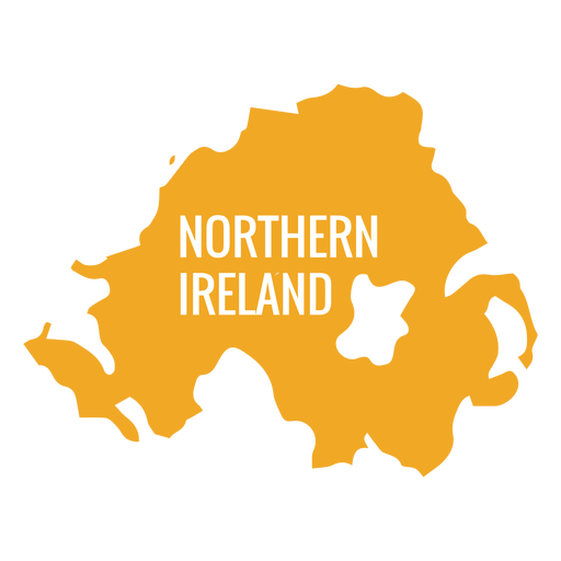 Country png. Northern ireland map transparent