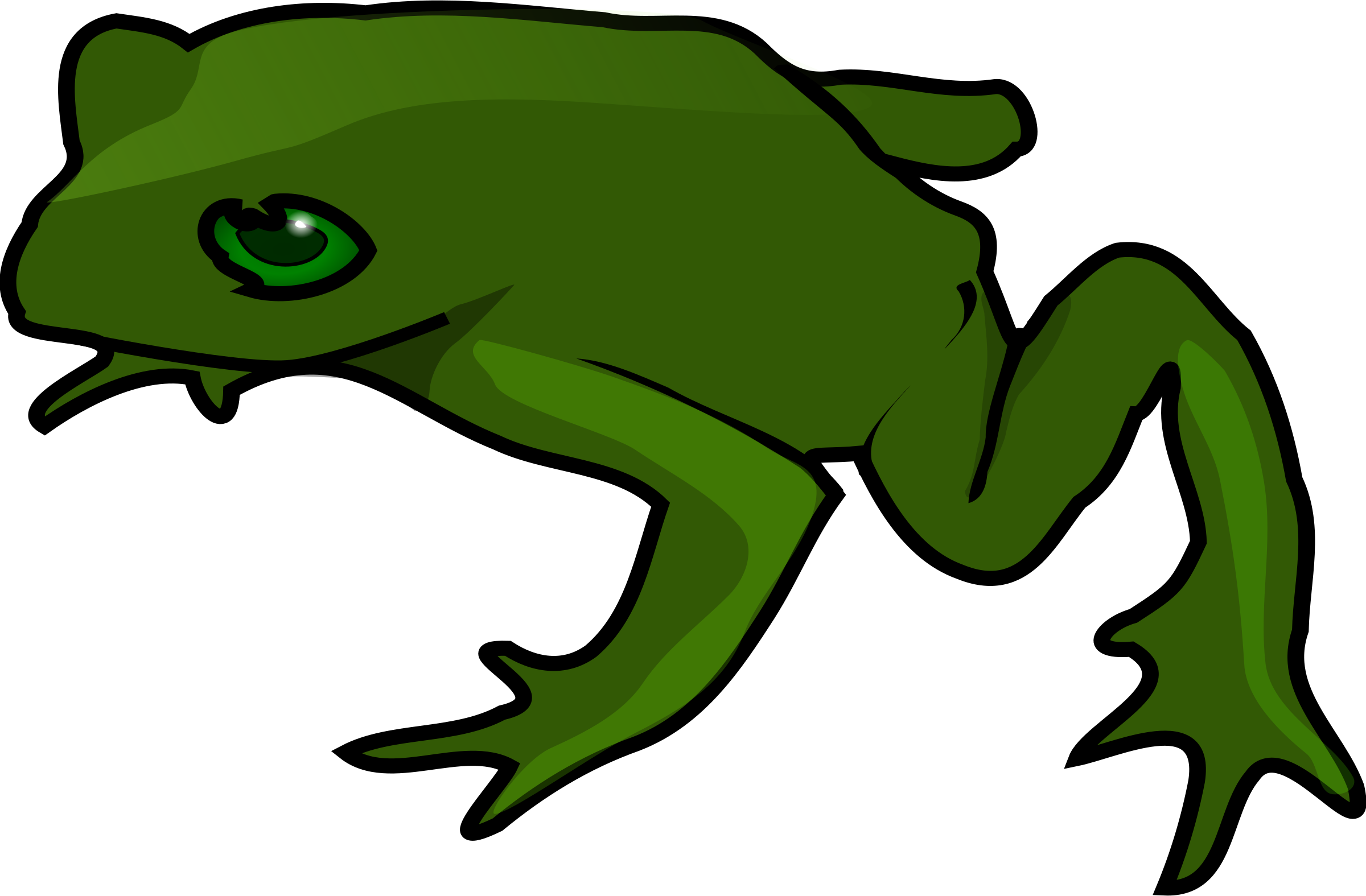 Frogs drawing simple. Clipart frog