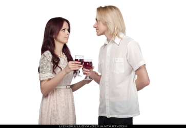 Couple drinking png. Stock romantic wine by